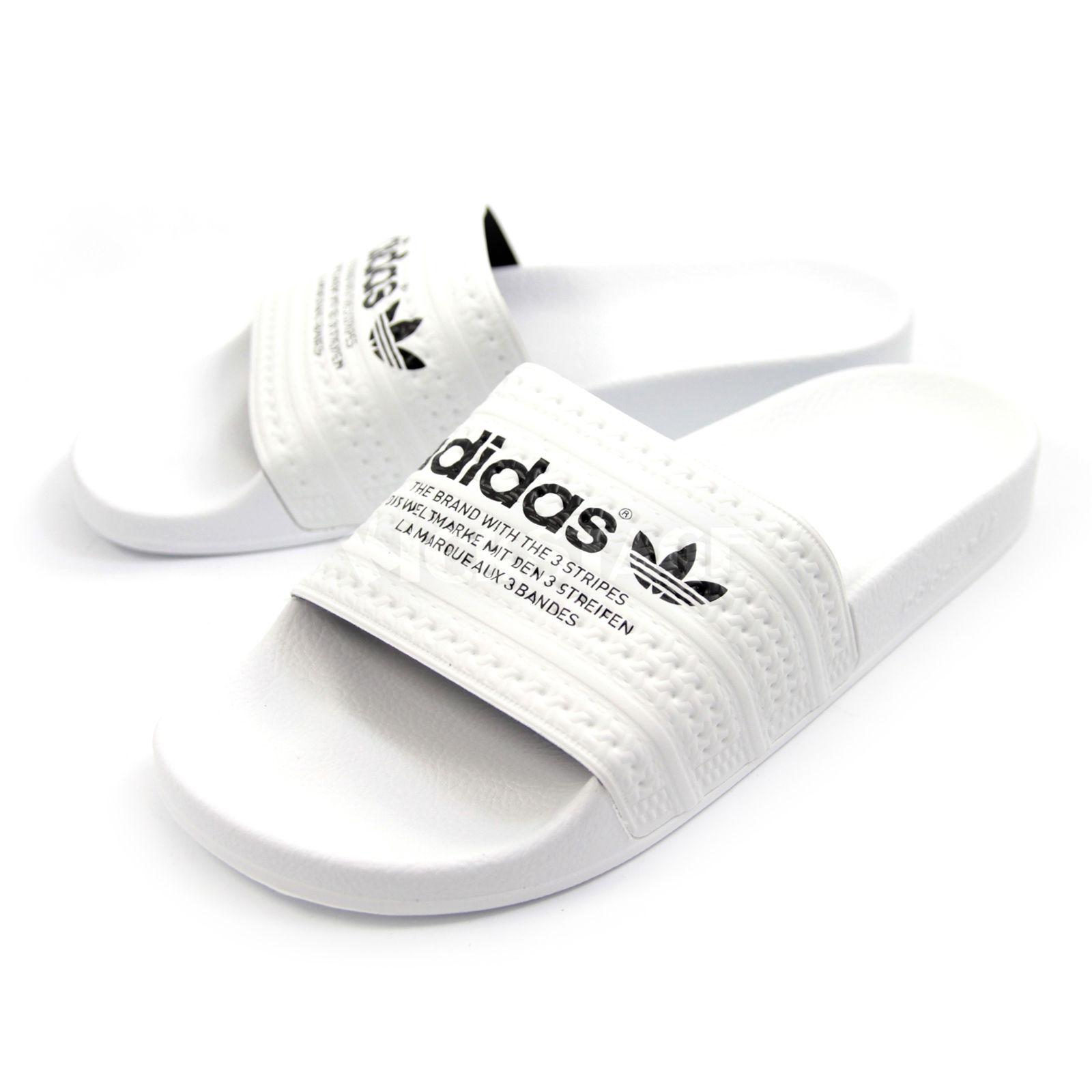 db54fecc2e5f8 white Adidas slides AOD1944  AOD1944  -  61.76   Adidas Shoes Outlet ...